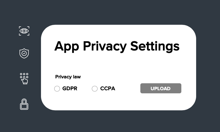 CCPA Privacy Settings